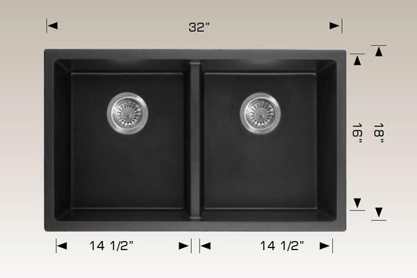 Granite Series Undermount Sink 205055M
