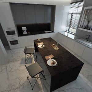 Eclipse Quartz Kitchen