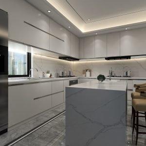 Martin River Quartz Kitchen